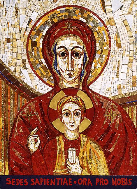 Sabiduria Maria María Sede de la Sabiduría